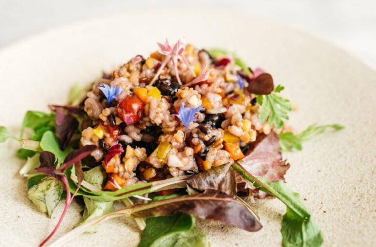 「パクパク食べるいろんな雑穀と木の実のbiotable.'sサラダ」1,200円。
