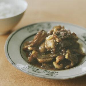 シシバラ肉の煮つけ
