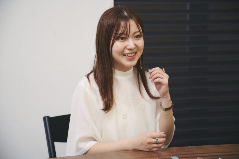〈mi luna〉を立ち上げた石田恵利花さん。