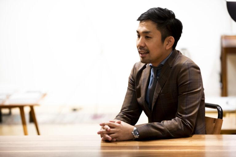 〈FOOD TEXTILE〉プロジェクトリーダーの谷村佳宏さん。
