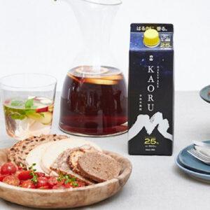 フルーティな香りが魅力の本格米焼酎「白岳KAORU」でおいしくアレンジ!夏にピッタリ!シェアスタイルで楽しむお酒レシピ7選