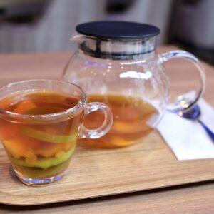 紅茶の味が染み込んだドライフルーツもそのままいただけます。