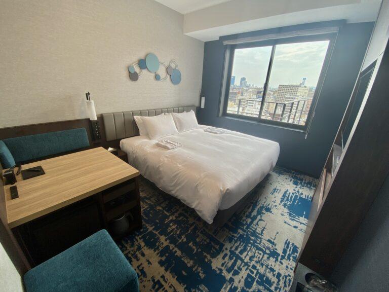 客室はコンフォートダブル(18.6~21.1平米)。