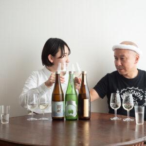 まずは「しぜんしゅ 純米原酒」からいただきます!