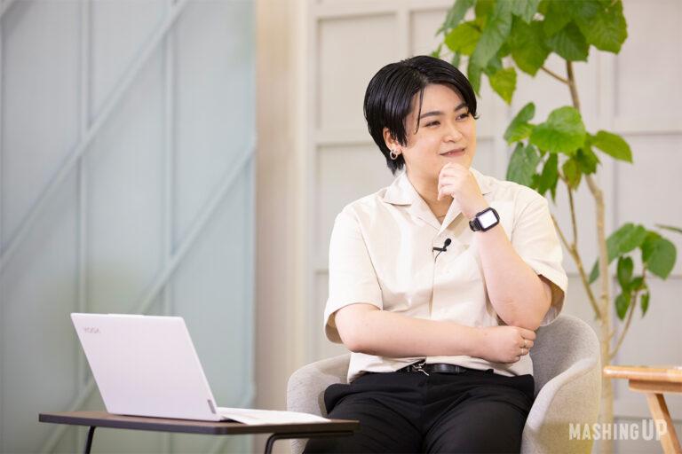 合田文さん。