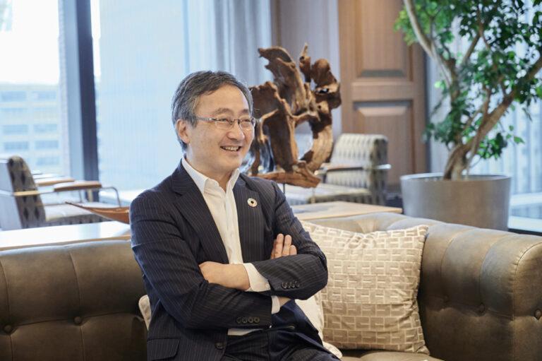 〈コモンズ投信〉取締役会長 兼 ESG最高責任者の渋澤 健さん。