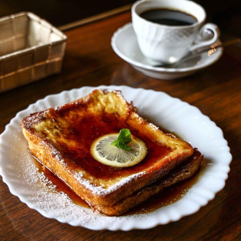 「フレンチトースト」700円
