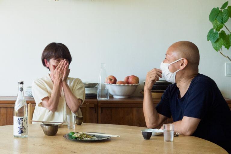 日本酒×料理の大成功のマリアージュに、マキさんもおおよろこび!