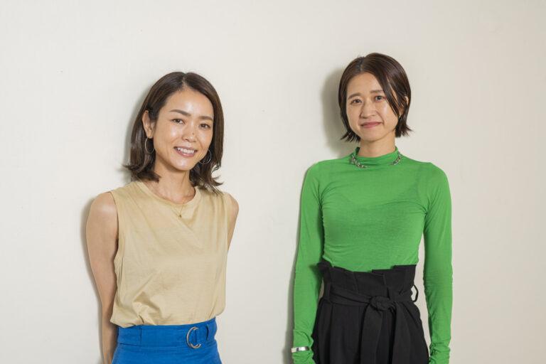 左から石井保子さん、横谷佳世子さん。