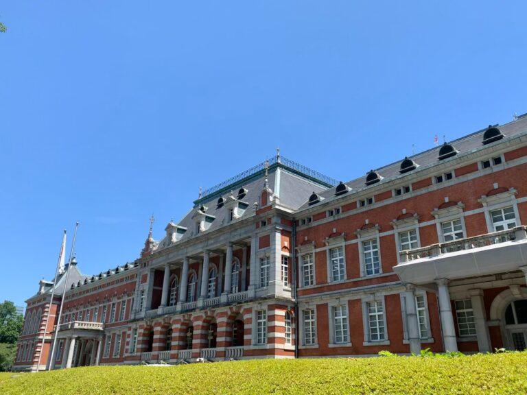 歴史感じる素敵な建物は法務省。前を通ると気が引き締まります。