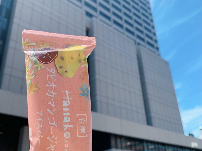 数年前の裁判デビュー日に地裁前で。お疲れ!ってHanakoコラボのアイス食べたな〜しみじみ。