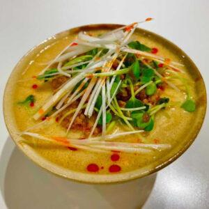 鎌田さん作「坦々麺」。