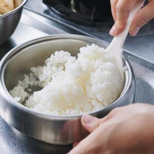 【POINT】いつだって炊きたてが1番。