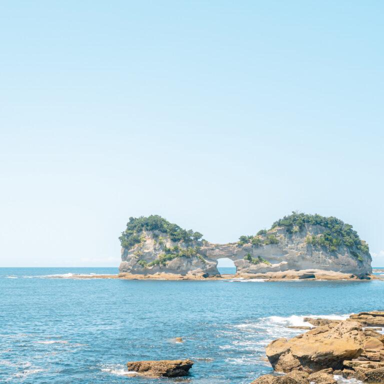 #円月島 #日本の夕陽100選