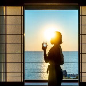 #南紀白浜マリオットホテル #水平線の見える和洋室 #心癒される時間 #絶景スポット
