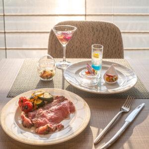 #南紀白浜マリオットホテル #Hawaiian Dinner Buffet #夕焼けの見えるレストラン