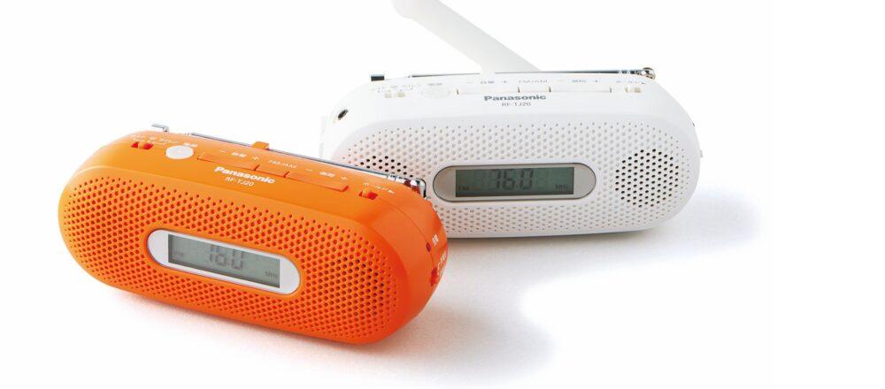〈Panasonic〉のFM-AM 2バンドレシーバー RF-TJ20