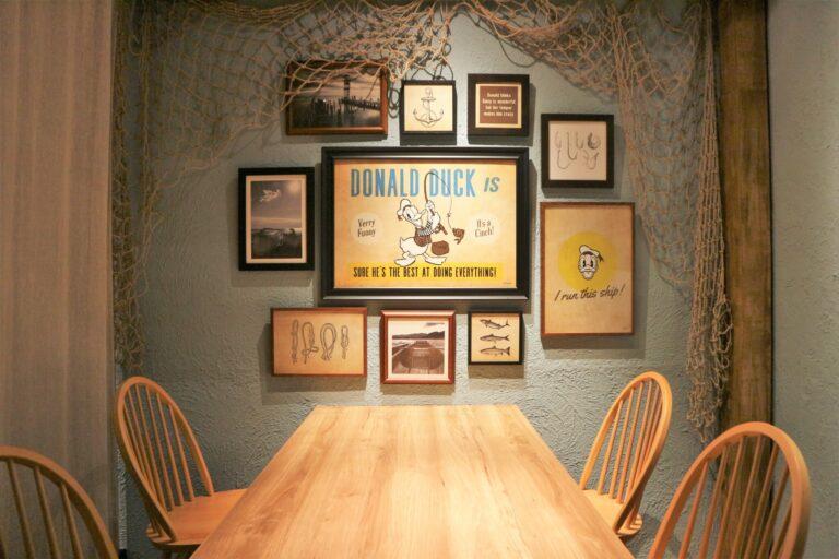 「ドナルドダックデザイン個室」。