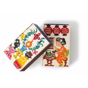〈関美穂子〉のオリジナルマッチ箱