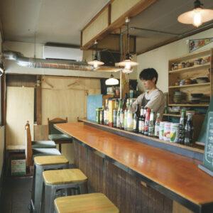 店は来年1月に左京区・鹿ケ谷へ移転予定。現在の店は〈上海航路〉の跡地にある。