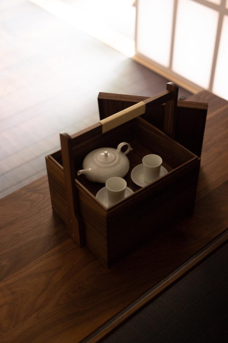 家具やアメニティは京都の職人の手仕事