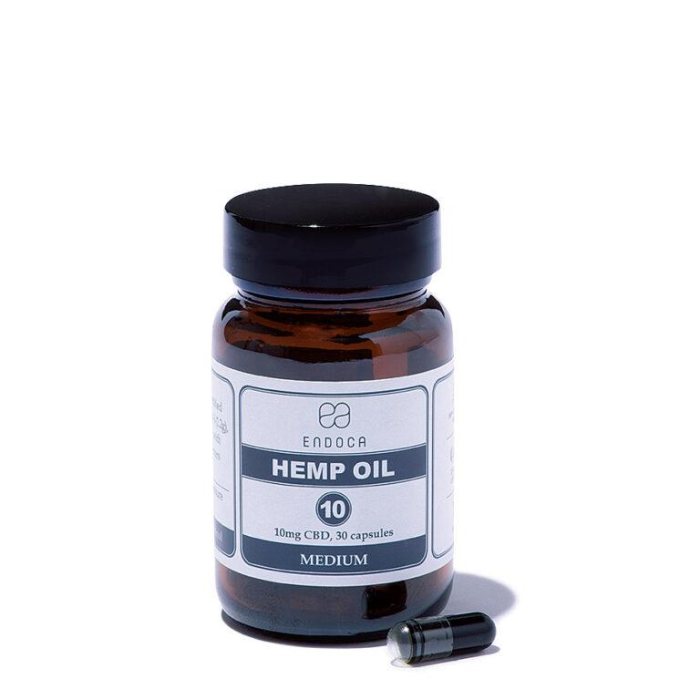 〈ENDOCA〉の「CAPSULES HEMP OIL」300mg CBD 5,500円(エンドカ)