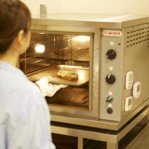 お手持ちのオーブントースターでも大丈夫です。