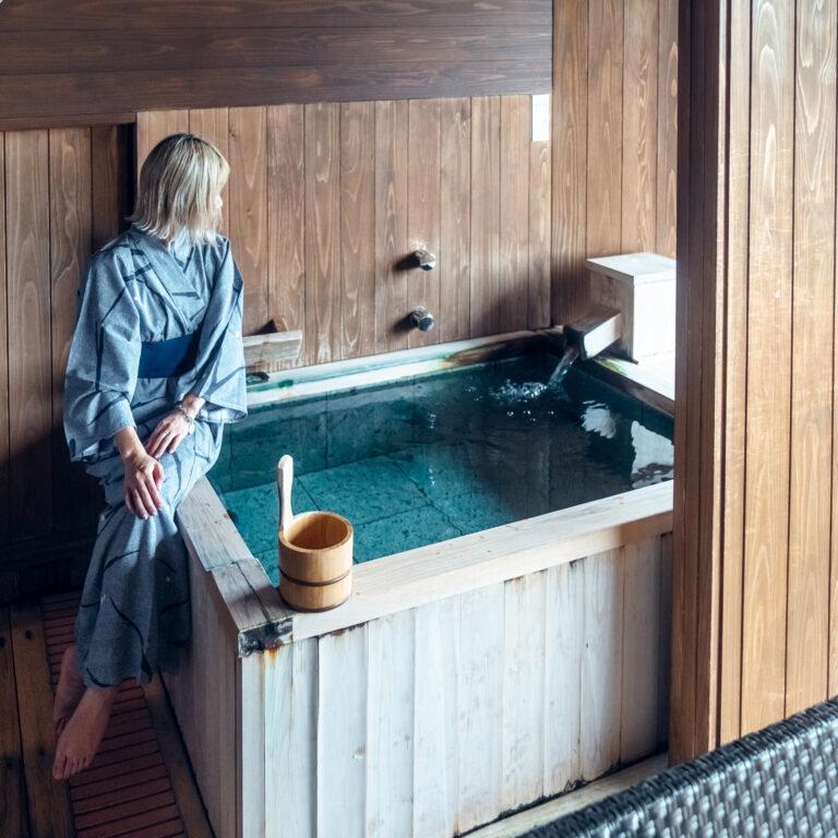 #ホテルラフォーレ修善寺 #山紫水明 #客室露天風呂でゆったり朝風呂
