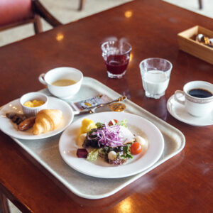 #ラフォーレ修善寺 #富士山を眺める朝食