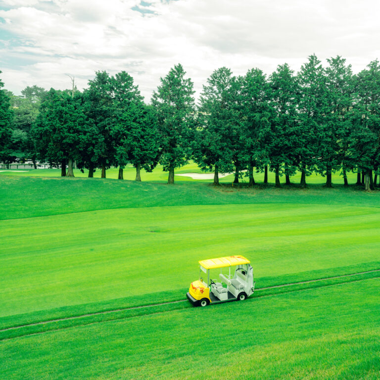 #ゴルフ #谷越え池越えコースも