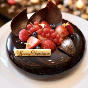 「チョコレートムースケーキ」(18cm)7,800円。