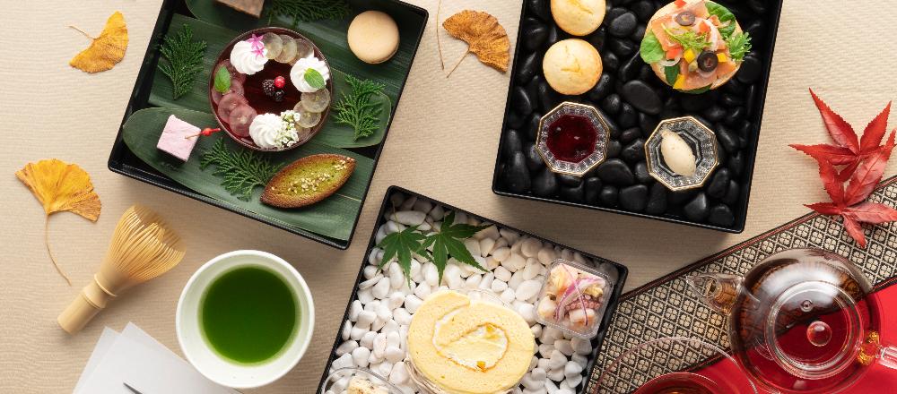 屋外で開かれるお茶会がテーマ!ホテル〈ヴィラフォンテーヌ グランド 東京有明〉の和風アフタヌーンティー