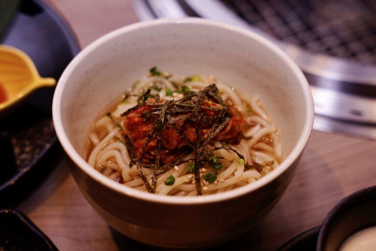 「ひとくちTATSU 冷麺」。