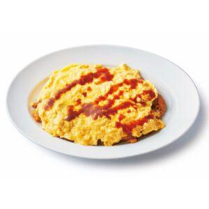 「ふわふわ卵のチキンオムライス」(2,640円)