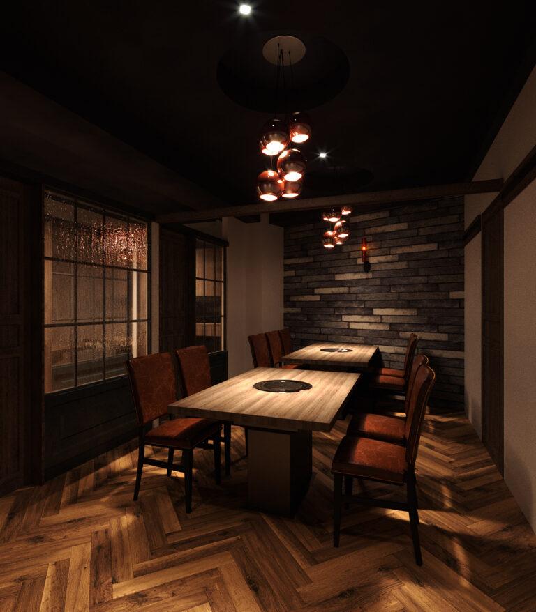 完全個室スタイルが、このご時世にマッチ。