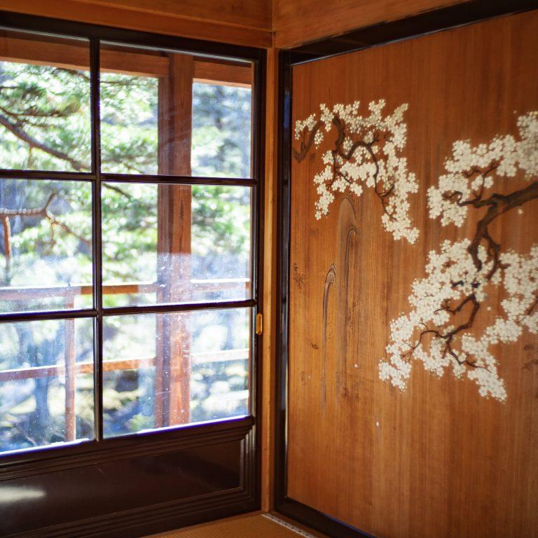 #美しい庭園と日本建築