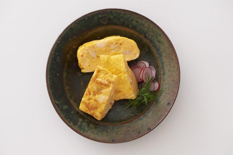 鰻ごぼう油煮の卵焼き