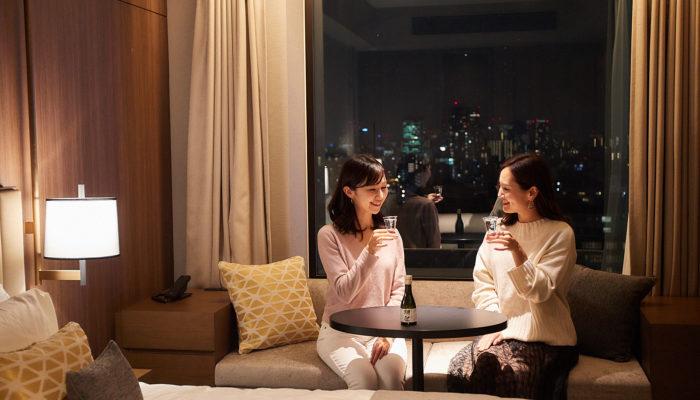〈三井ガーデンホテル六本木プレミア〉にお泊まりして、ビューティー&アートを満喫する週末女子旅プラン。