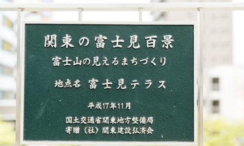 「関東の駅百選」に選ばれている東久留米駅。改札口を出て西口方面に進むと、「関東の富士見百景」に選定された富士見テラスがあります。西にまっすぐ伸びる、まろにえ富士見通りの先に富士山が眺望できます。