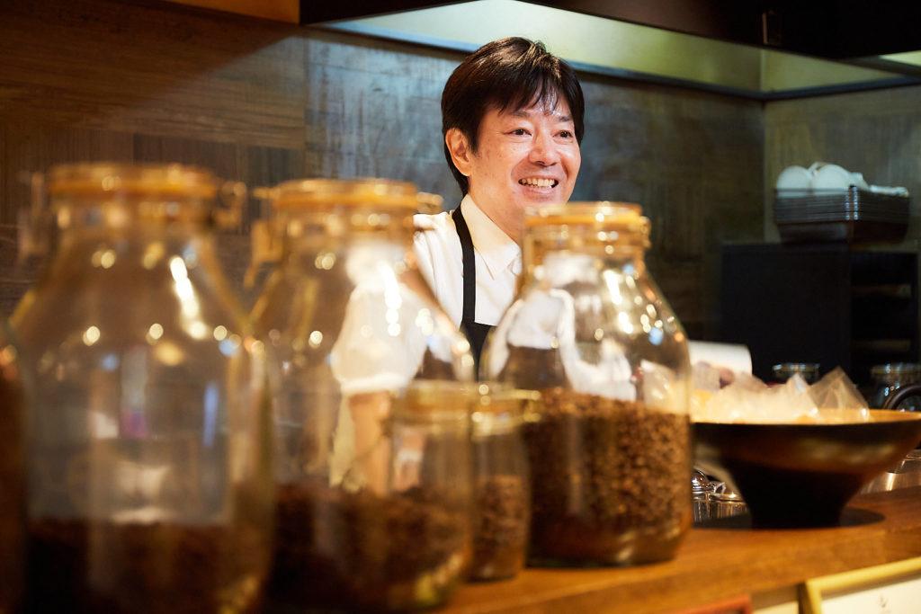 豆の種類も豊富。寺内さんに、どういう味が好みかを伝えて、お気に入りを探すのも楽しい。