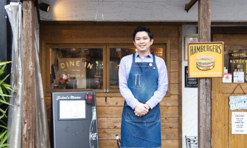 飯能初のグルメバーガー店が、街の大人の社交場に。〈GEORGE'S BARger〉が発信する新たな飯能のカタチ。