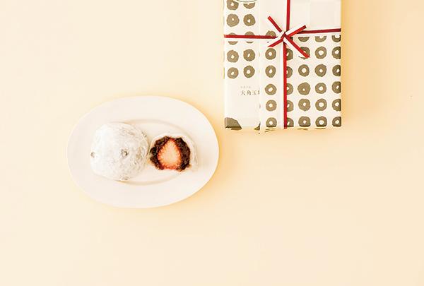連包裝都散發銀座氣息,可愛的和菓子