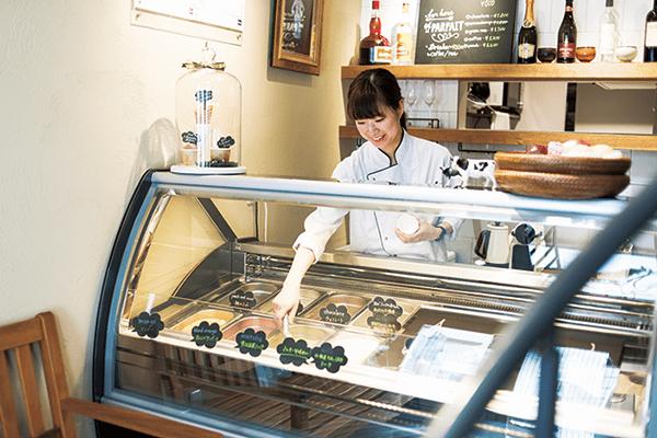 技術高超的甜點師傅製作出的頂級聖代