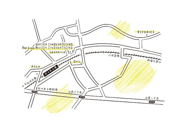 丸山智博的代代木上原飲食地圖
