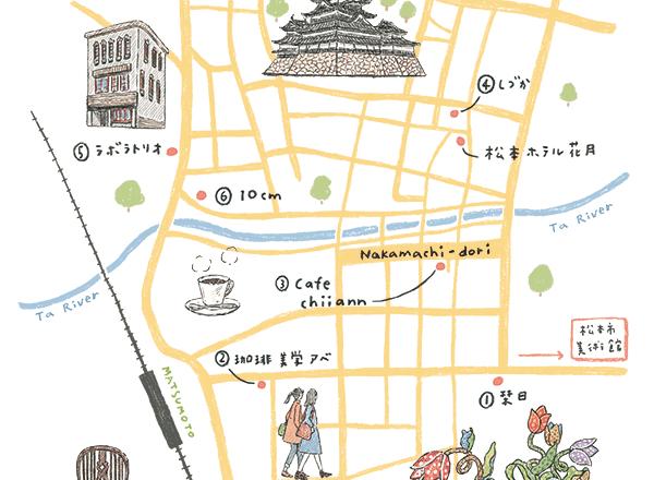造訪民藝歷史悠長的長野縣松本市,街頭散步也是旅行的另一種樂趣