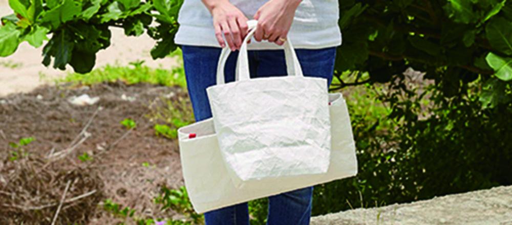 結合環保、公益與藝術。日常生活中用來恰到好處!在沖繩才有的「牛奶盒提包」背後有什麼故事?