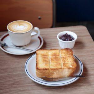 【東京】最近的咖啡廳流行「紅豆奶油吐司」!?吐司迷不可不知的咖啡廳。
