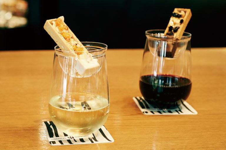 グラス二つ