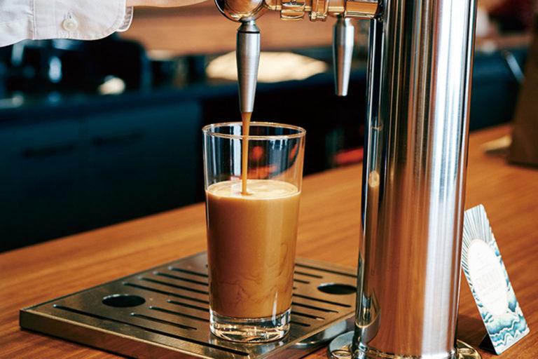 コーヒーだしてます