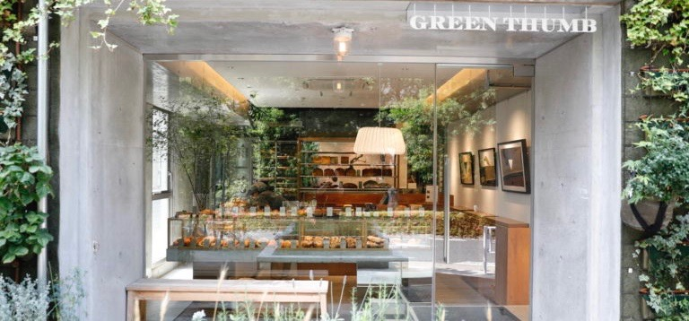 【東京】由人氣麵包店365日操刀,在澀谷正中央的〈GREEN THUMB〉長出一片小麥田。